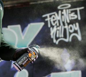 Feminist Killjoy - Sprayworkshop @ draußen