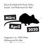 Monatsprogramm März & April 2020