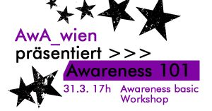 Awareness basic Workshop @ Wolke, Kern C, 4.Stock