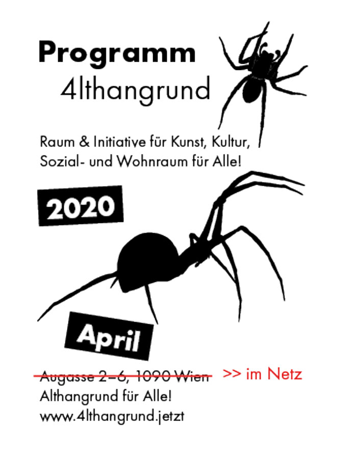 Programm April – im Netz