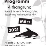 4lthangrund Programm März 2021