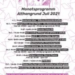 Programm Juli 2021