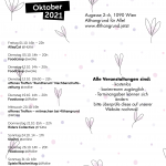 Monatsprogramm Oktober 2021